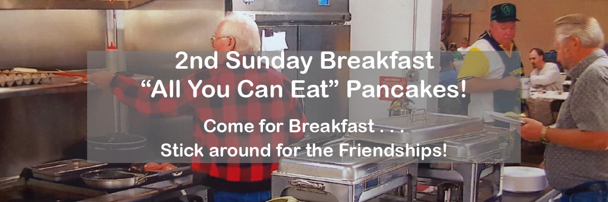 2nd Sunday Breakfast